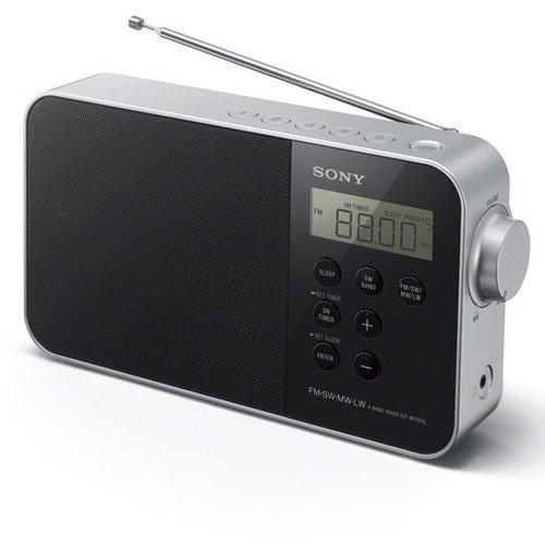 Sony ICF-M780 đài phát thanh đồng hồ kỹ thuật số di động (FM / SW / MW / LW FM, đèn LED, báo thức, n