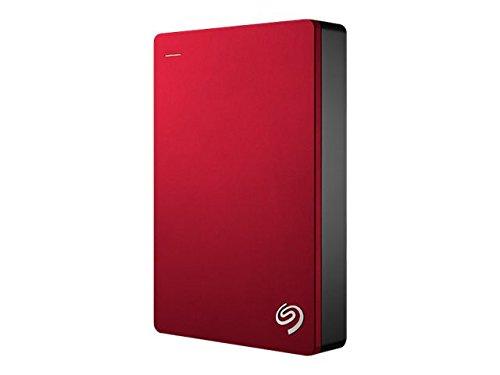 Khu bảo tồn công nghệ Seagate Seagate với ổ cứng gắn ngoài di động 4 TB USB 3.0, đỏ (STDR4000902)