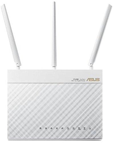 Bộ điều hợp kép băng tần kép ASUS RT - ac68u ac1900 802.11 ac (hướng mũi tên, điều khiển APP, bảo vệ