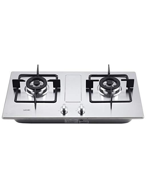Sacon 4.2kw hỏa lực thép không gỉ đôi mắt nồi bếp bảng (xin vui lòng liên hệ với dịch vụ khách hàng