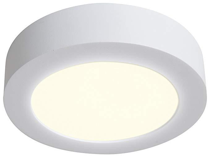 Naeve Leuchten A, đèn trần LED, nhôm, 12 watt, 17 x 17 x 4 cm, trắng ấm 1101726