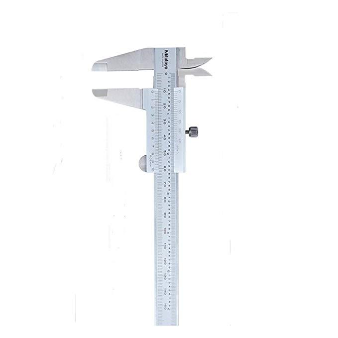 Nhật bản Mitutoyo hiển thị kỹ thuật số vernier caliper 0-150200300 mét độ chính xác cao thép không g