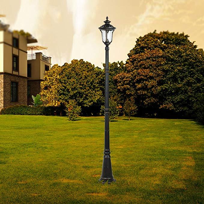 2.2 mét Châu Âu đèn đường ngoài trời ngoài trời không thấm nước đèn vườn cảnh vườn đèn công viên lối