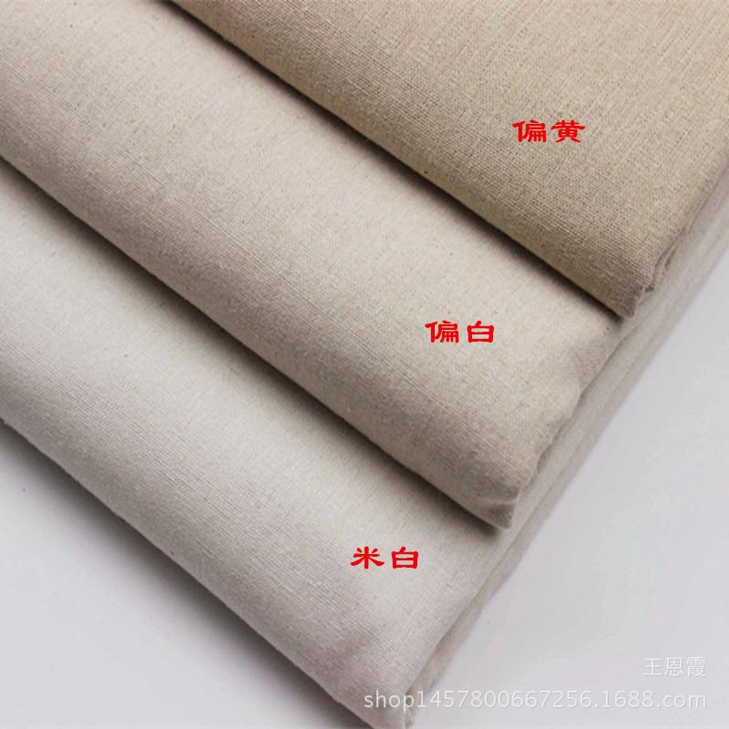 Nhà máy trực tiếp polyester / cotton spun vải linen in ấn linen vải nền vải thủ công mỹ nghệ vải chu