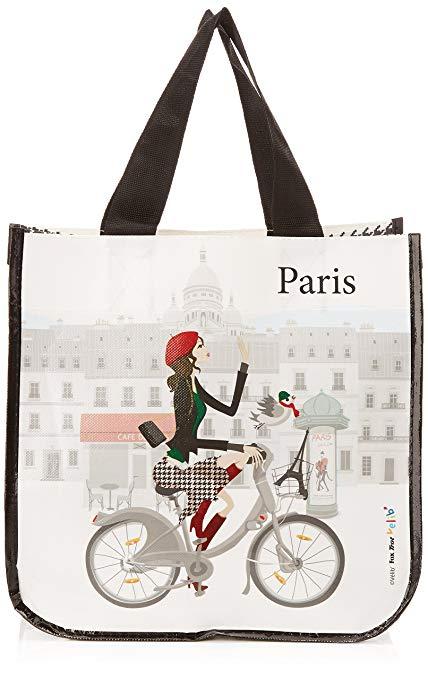 Foxtrot vlib9331 túi mua sắm nhỏ với một motif motif- vải không dệt - 30 x 45,72 cm x 30 cm