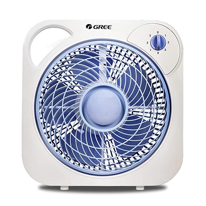 Gree (GREE) fan hộ gia đình máy tính để bàn quạt điện im lặng lần lượt trang fan văn phòng mini chí