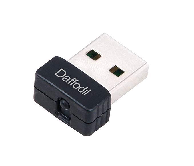 Daffodil LAN03 Micro USB Card mạng không dây wifi nhận 150Mbps tốc độ cao truyền