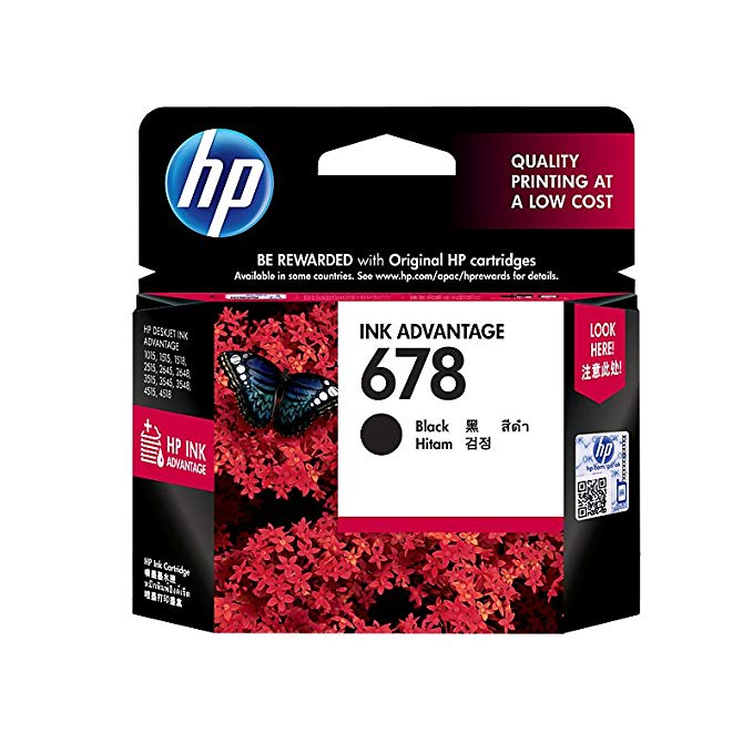 HP HP 678 Black Ink Cartridge