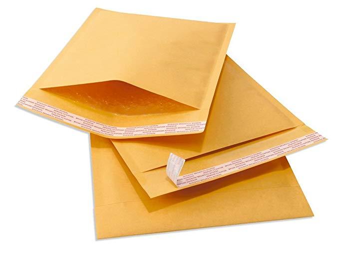 Bộ sản phẩm bong bóng giấy kraft Sales4less đầy phong bì bưu phẩm không thấm nước 3