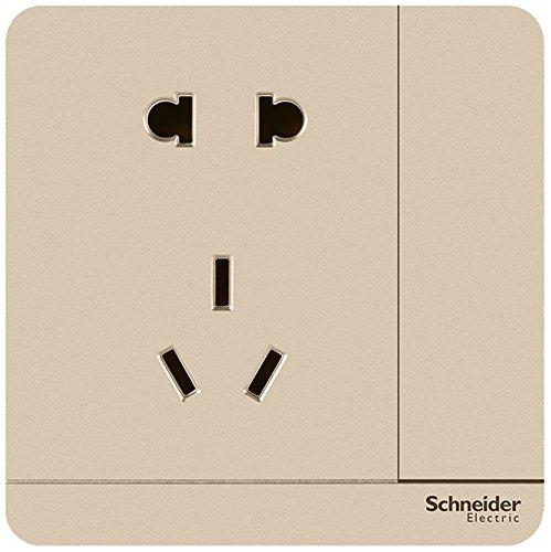 Schneider - ổ cắm bảng 10a năm lỗ ổ cắm với nút chuyển đổi