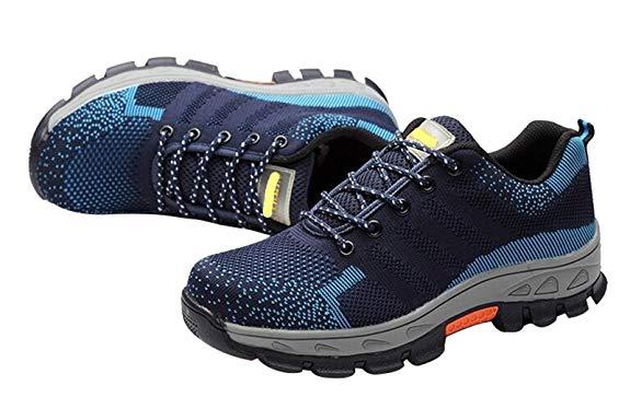 Jiu du phụ nữ và nam giới đầu vòng cấu trúc cách nhiệt không trượt làm việc giày làm việc * sneakers