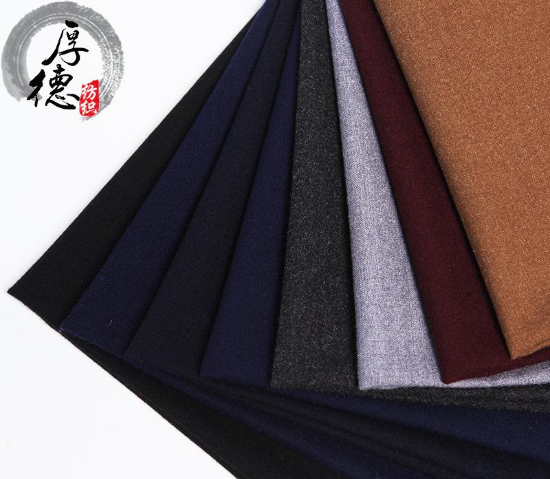 TR vải đơn sắc mùa xuân và mùa thu vải của nam giới phù hợp với quần kinh doanh chuyên nghiệp vest v