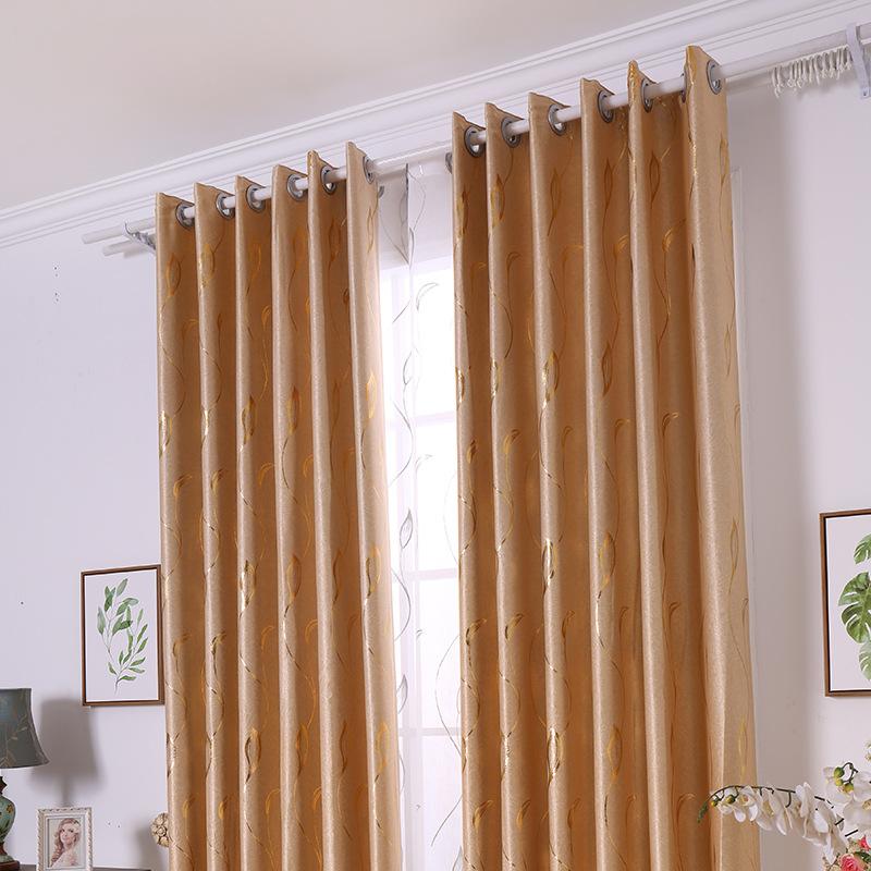 Rèm cửa mới Hiện Đại nhỏ gọn đôi phải đối mặt nhung hot bạc phòng ngủ phòng khách cao màn rèm vải nh