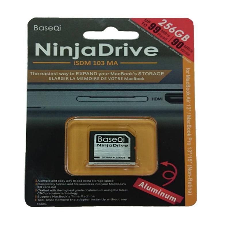 BaseQi 256GB nhôm tốc độ thẻ nhớ SD. Áp dụng cho Dell Dell XPS 13 inch &15 inch.