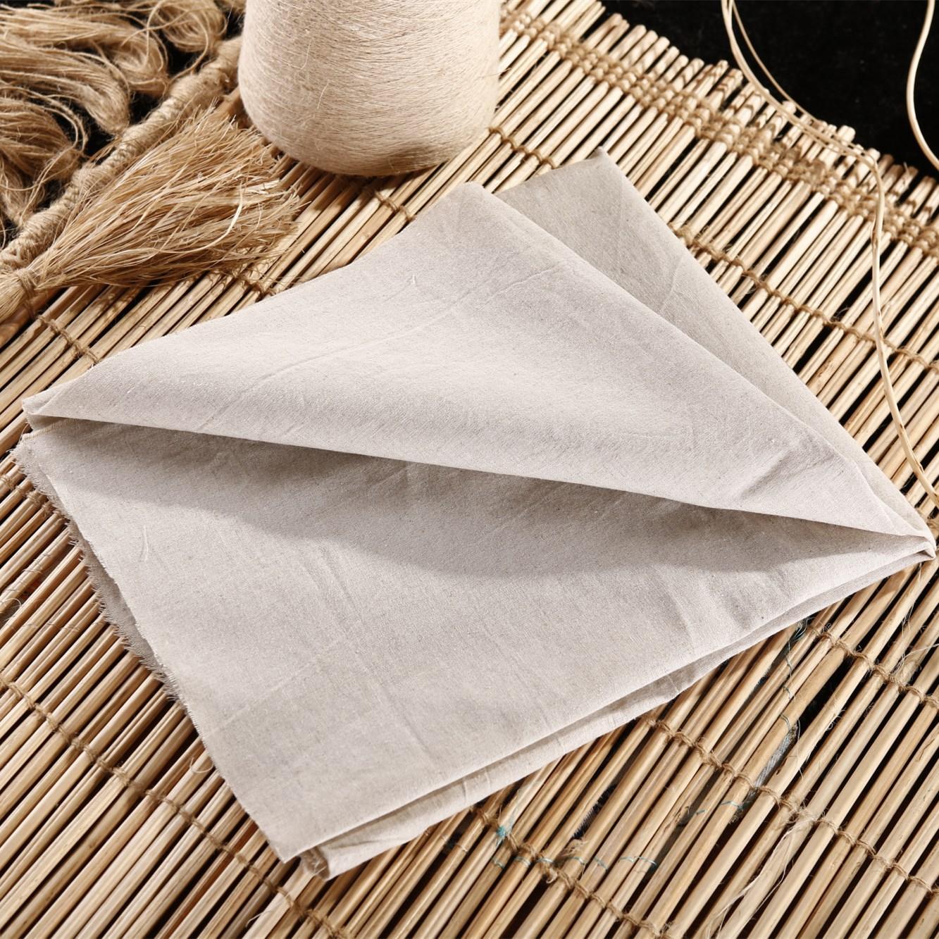 Các nhà sản xuất cung cấp vải lanh và bông pha trộn vải đặc biệt vải bông vải bông Được lựa chọn bôn