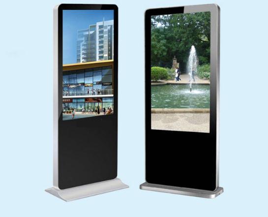 55 inch dạng tháp độ nét cao mạng lưới tinh thể lỏng chia màn hình, máy đa phương tiện quảng cáo kin