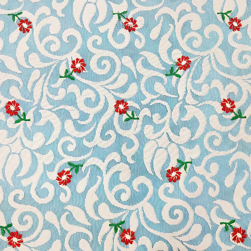 Nhà máy bán hàng trực tiếp cao cấp của phụ nữ vải ren nhỏ tươi thêu lưới polyester không đàn hồi jac
