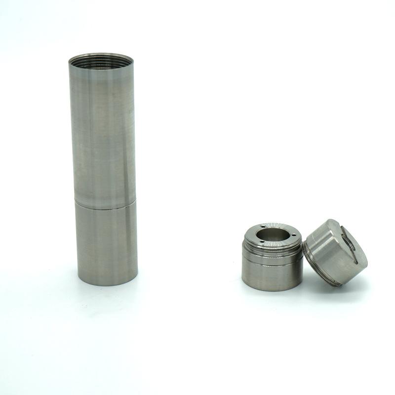 CNC lathe siêu chính xác gia công E-thuốc lá thép không gỉ phụ tùng Phần Cứng xe phay bộ phận quay b