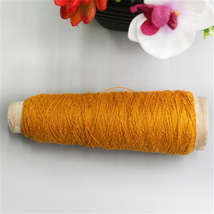 Cung cấp 28% tơ tằm 72% lanh Sợi tơ tằm 1 / 8,3NM Vải lanh lụa Juan sợi phẳng