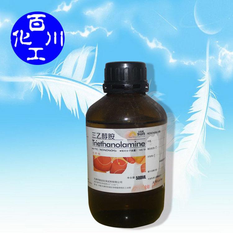 Cung cấp bán buôn thuốc thử hóa học Triethanolamine Phân tích tinh khiết AR500ml BB102-71-6