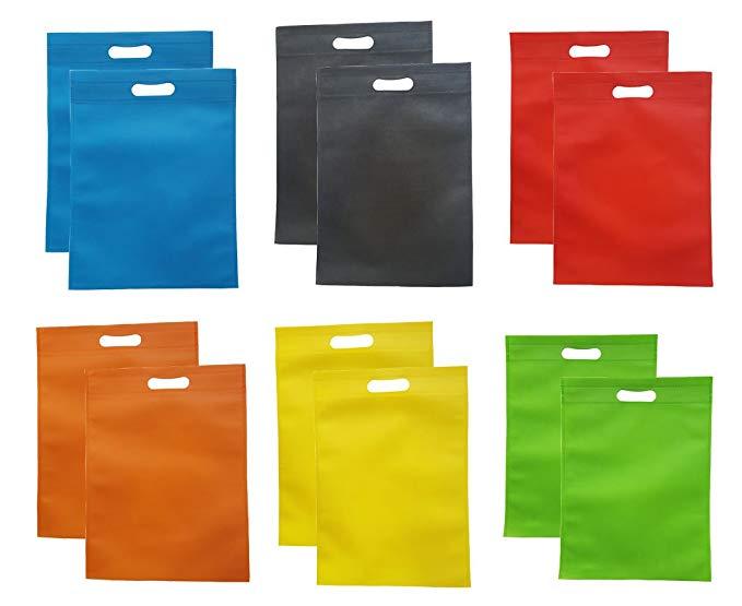 12 miếng không dệt túi lưu trữ đa chức năng pha trộn màu sắc 30 x 40 cm
