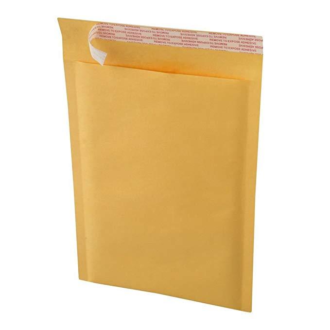 Ecoswift bm124012400 50 kích thước # 0 6 X 10 kraft bong bóng giấy bưu phẩm tự niêm phong số lượng l