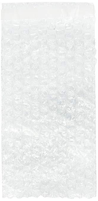 100 gói 4 X 7.5 21.59 cm tự niêm phong trong suốt bong bóng túi túi 3/10 cm bọc 10.2 x 19.1 cm