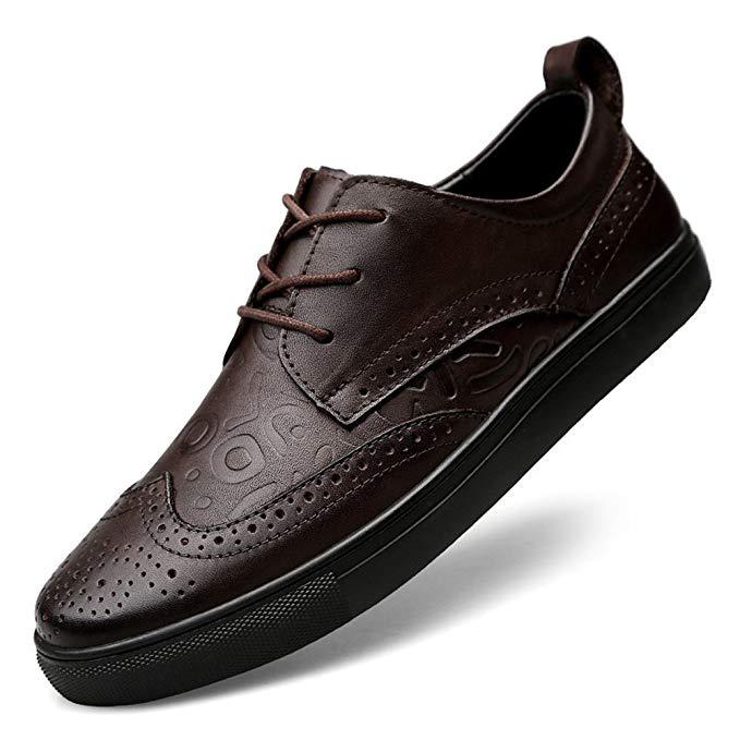 Giày tây nam họa tiết dập nổi XIMO BULL XM120-XB008-K