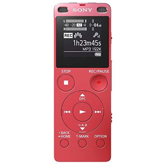 Sony Sony ICD-UX560F Ghi âm kỹ thuật số Ngôn ngữ kinh doanh Helper 4GB Dung lượng Pink
