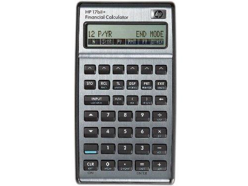 Hewlett Packard HP HP17bii + Máy tính tài chính
