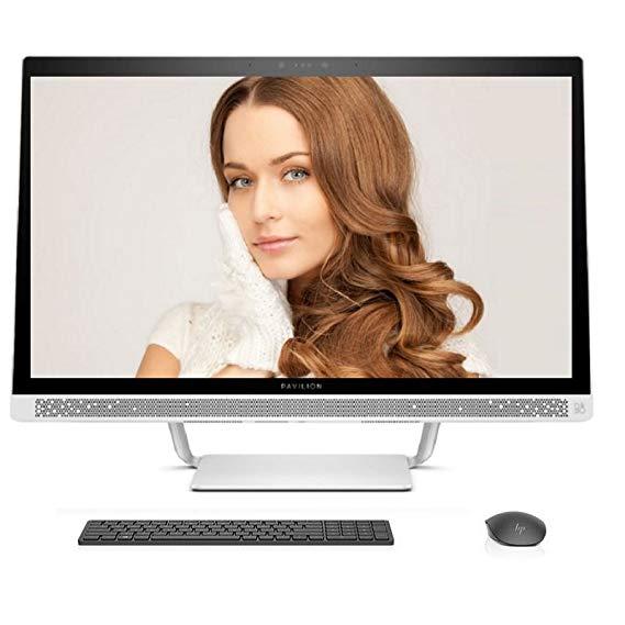 HP 27-a278cn 27-inch chạm vào một máy i7-7700T / 128G trạng thái rắn + 2TB / GT 930MX 4G một mình /