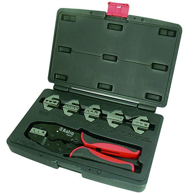 Astro 9477 Chuyên Nghiệp Nhanh Hoán Đổi Cho Nhau ratchet uốn tóc bồng tool set, 7 cái