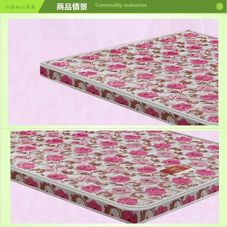 Nhà sản xuất dừa nâu môi trường đệm 10 centimet vải bông nệm giường nệm khách sạn nhà trường đặc biệ