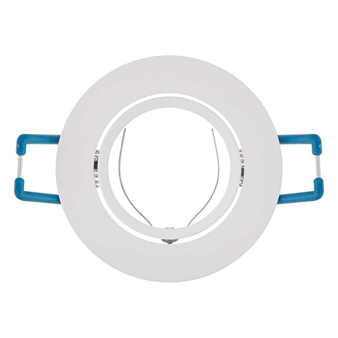 BestBenefic cypress LED downlight đèn spotlight đèn chủ shell phụ kiện cố định khung đèn giữ cốc (th
