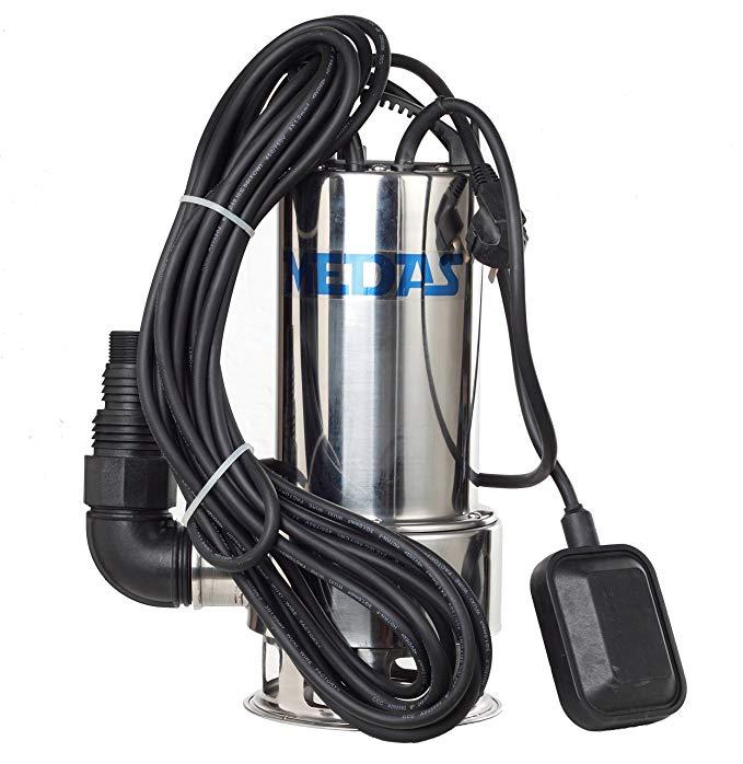 MEDAS Midas 1000 Wát nâng cao bơm bằng thép không gỉ bơm chìm Làm Vườn bơm đài phun nước WQD15000