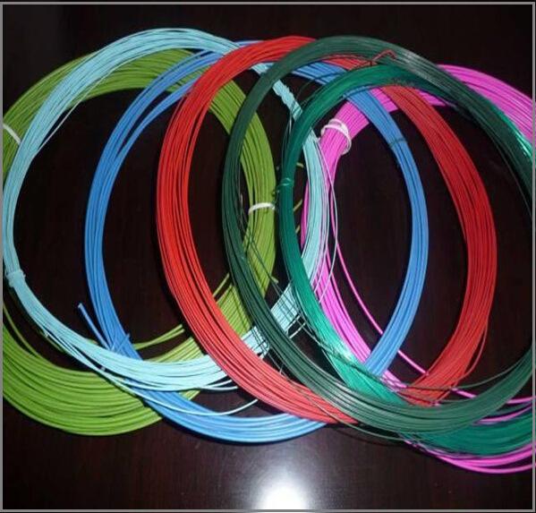 [nhà sản xuất làm] công nghệ màu nhựa tráng kim loại dây tráng dây