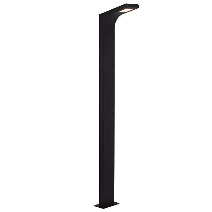 Brilliant g66586 / 63 A +, Đèn LED Derek sáng 1 m IP 54, Kim loại, 3,6 W, Tích hợp, Than đen, 18,5 x
