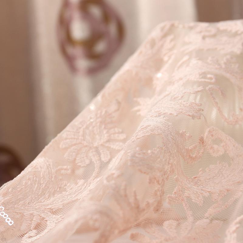 [Sản Phẩm mới] Lưới Sữa Lụa Sequins Trang Phục Vải Wedding Dress Thêu của Phụ Nữ Vải Bán Buôn