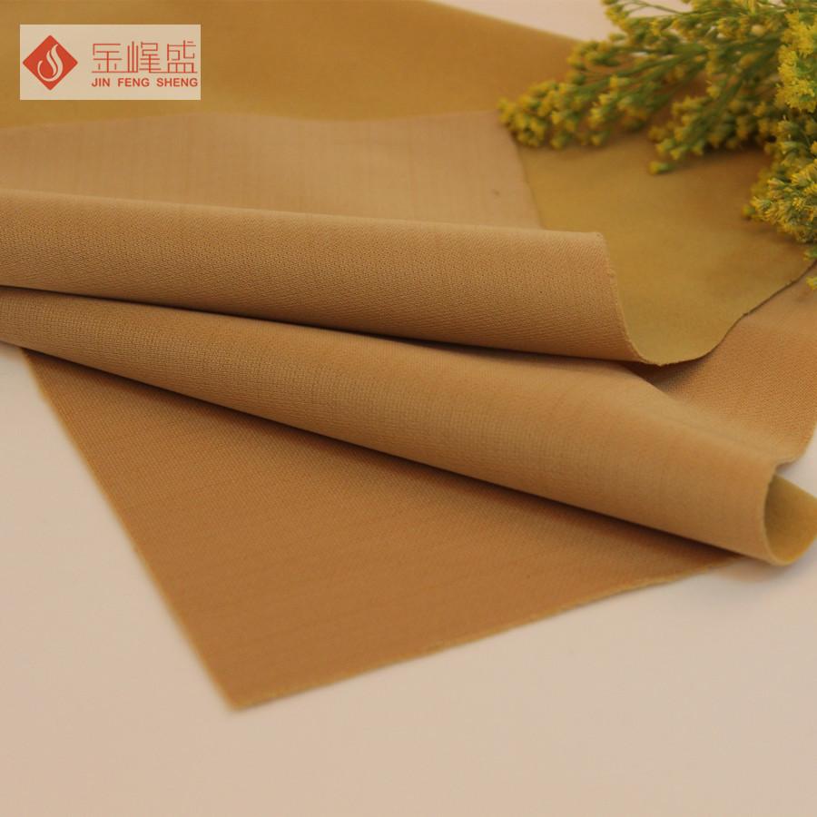 Dệt kim đơn mặt flannel vàng mỏng flannel Nylon len đổ xô vải Túi Xách flannel F03.D1.0528