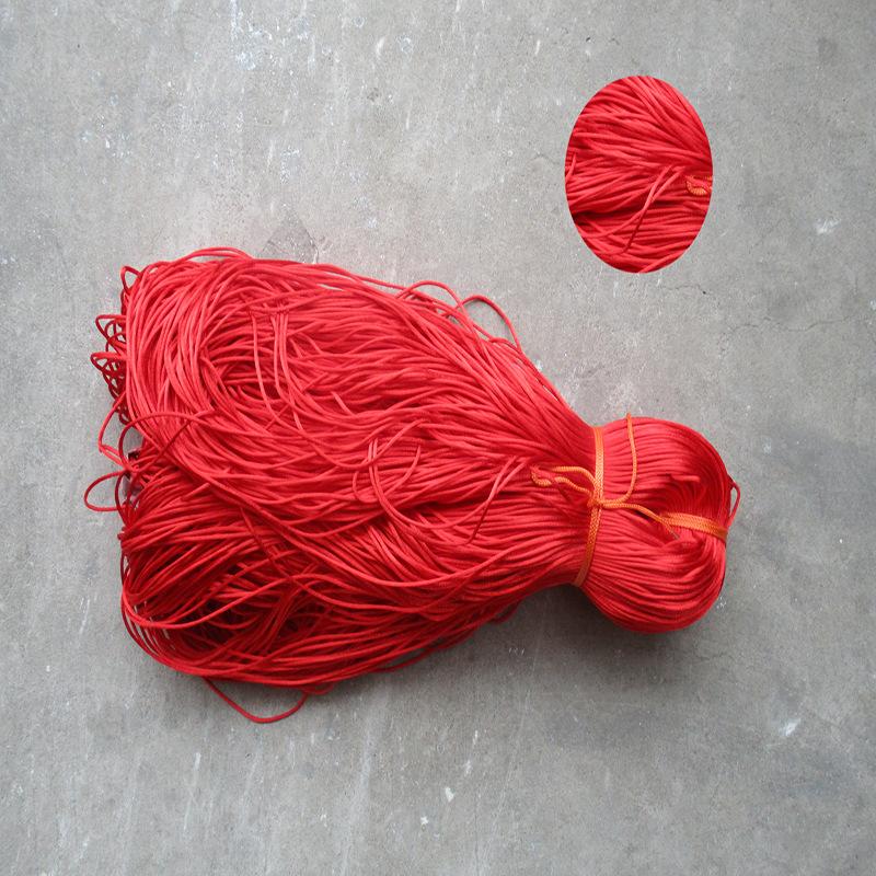Nhà máy trực tiếp lớn màu đỏ polyester Hàn Quốc dòng 5 webbing nguồn gốc bó túi dây rút chỗ bán buôn
