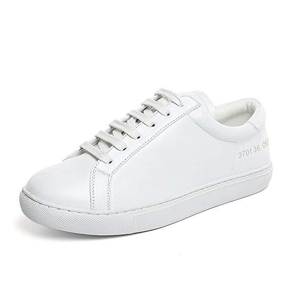 Giày trắng nữ kiểu dáng thể thao Kebule