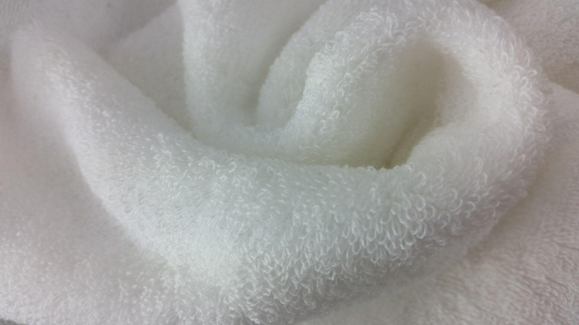 Quảng Đông khăn vải một mặt hai mặt bông dệt vải bông cắt nhung khăn sợi tre khăn vải