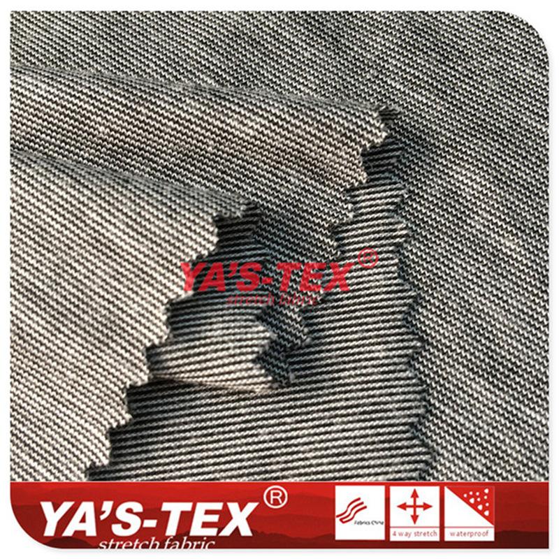 Vải sợi dính yếu chứa than chì - ene - thành phần chức năng khử trùng vải bicolor