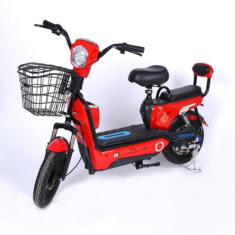 Xe điện kích thước nhỏ dành cho người lớn .