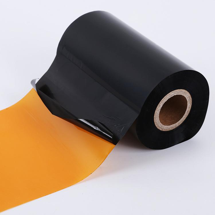 Nhà máy cung cấp trực tiếp tăng cường hỗn hợp cơ sở băng 110 mét * 300 carbon ribbon Tự dính in nhãn