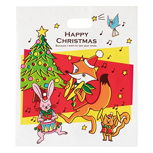 Túi PE cầm tay Giáng sinh - Vành đai Juliet - 2 (50 miếng) XJB-2