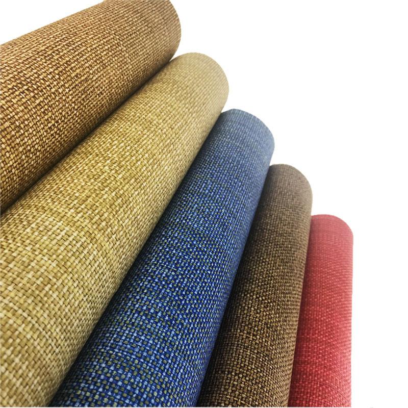 Vải nghệ thuật 2018 nổ giấy dệt vật liệu sofa trà mat vamp xe ghế đệm pp chức năng vải