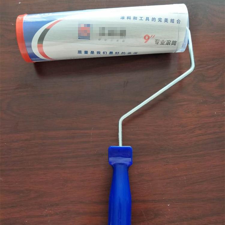 Nhà máy trực tiếp cao cấp tóc ngắn con lăn bàn chải lớn thuận lợi tốt tóc con lăn 9-inch con lăn liề