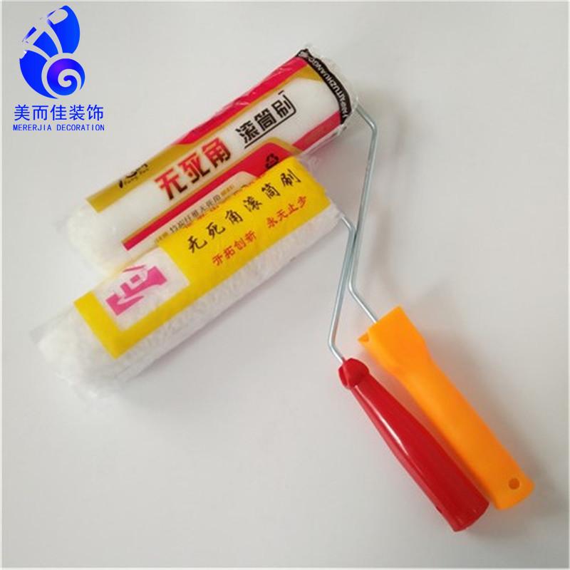 Nhà máy trực tiếp Tongcheng 9 inch không chết lăn góc bàn chải tóc dài sơn con lăn bàn chải cao cấp