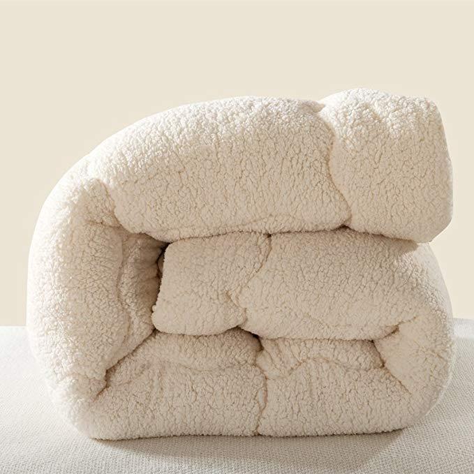 Siêu mềm dày da cừu da quilt nhập khẩu siêu mịn lông nhung đầy nhung mùa xuân và mùa thu bởi nhung a